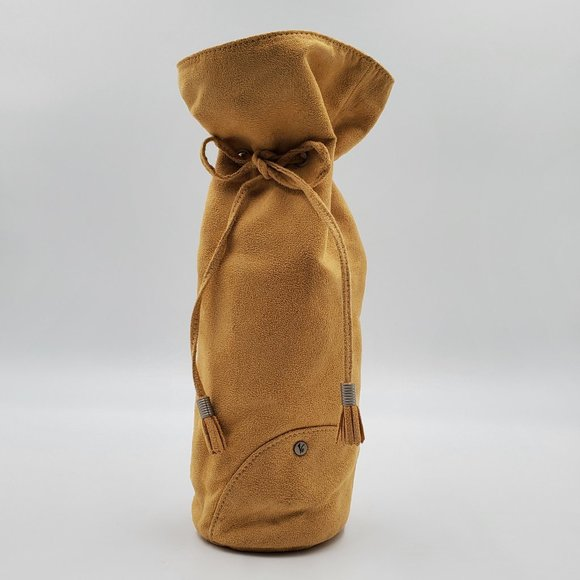 Vinaferro Other - Vinaferro Insulated Suede Wine Bag